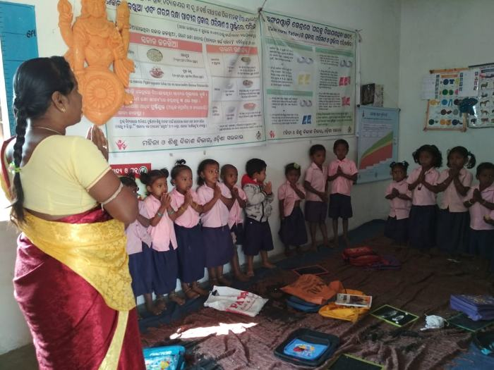 AWWs have now been tasked with early childhood education as well | Photo courtesy: Kavitha Kuruganti