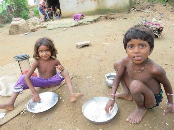 In India, 35.7% of children under five are underweight, 38.4% are stunted and 21% are wasted