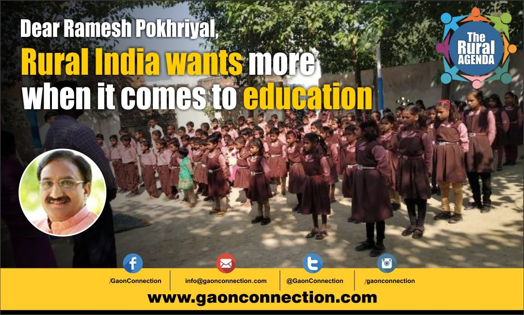 Education first: People living in rural India have high expectations